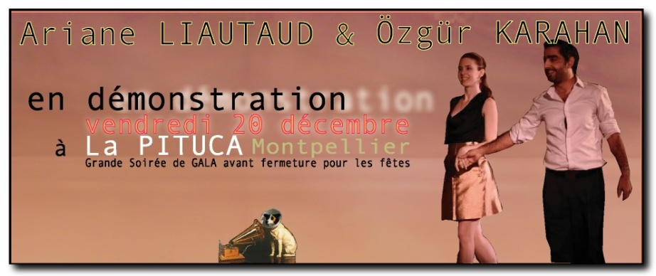 ARIANE & OZGUR V.20 DÉC 22013 LA PITUCA MONTPELLIER