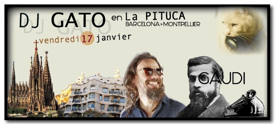 DJ GATO VEND 17 JANVIER PITUCA et NO ME PISES