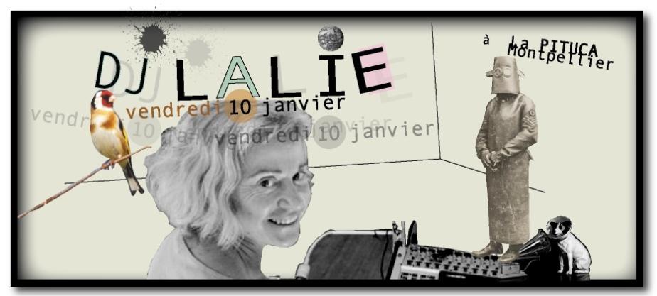DJ LALIE LA PITUCA VNEDREDI 10 JANV.2014