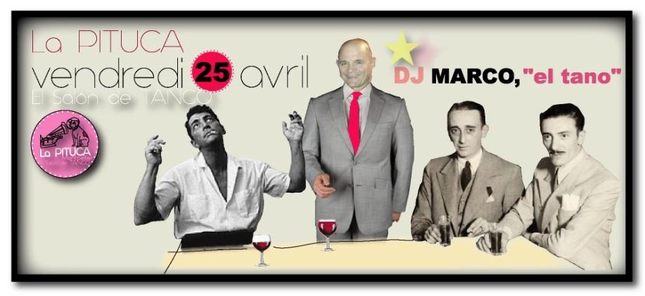 DJ MARCO MORETTI LA PITUCA V.25 AVRIL 2014