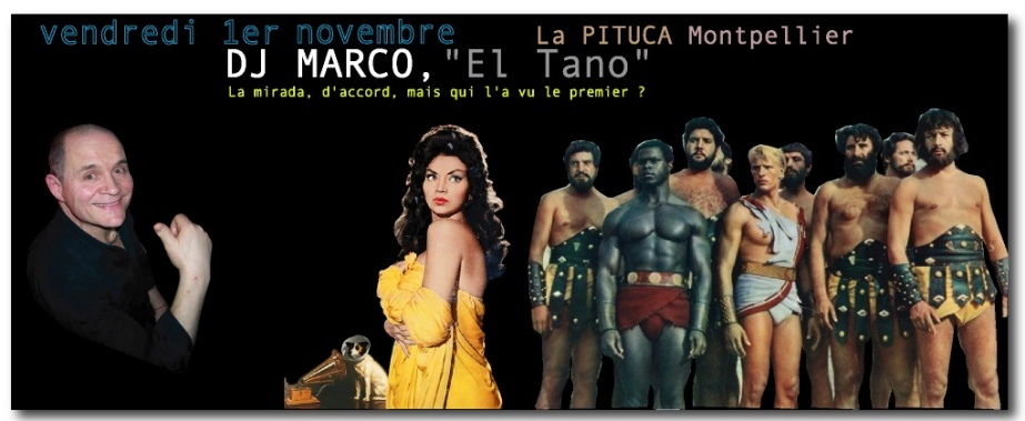 DJ MARCO PITUCA VEND 1er NOVEMBRE