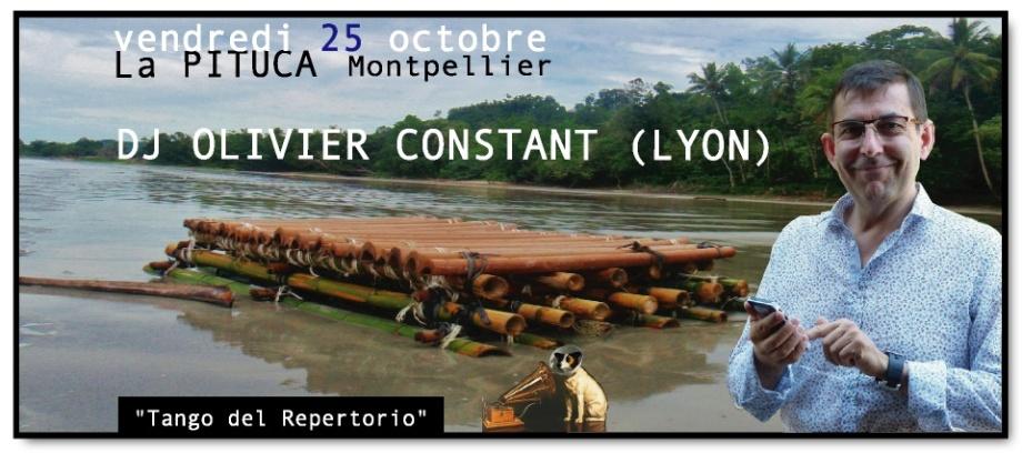 DJ OLIVIER CONSTANT LA PITUCA V.25 OCT 2013