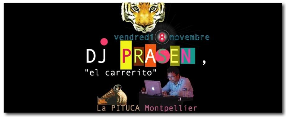 DJ PRASEN VEND 8 NOV 2013 LA PITUCA