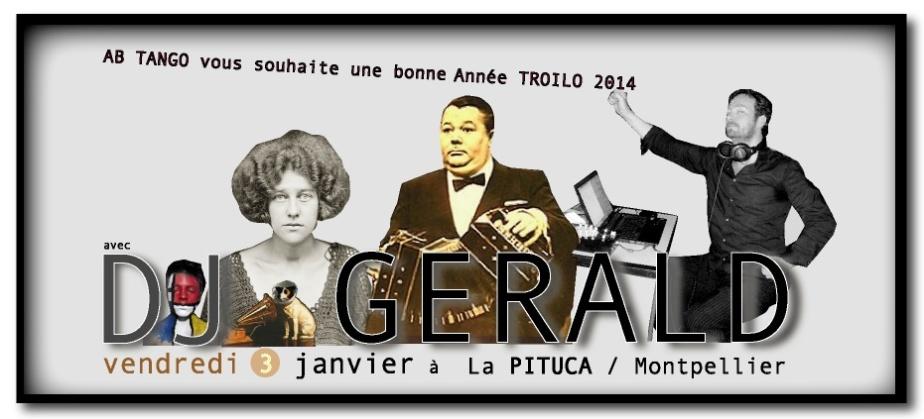 LA PITUCA DJ GÉRALD 3 JANVIER 2014
