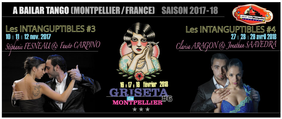 Programme a bailar tango montpellier saison 2017 2018 el sal n de tango rufino luro - Danse de salon montpellier ...